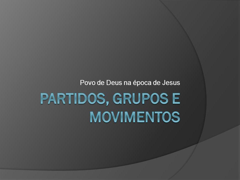 Povo de Deus na época de Jesus