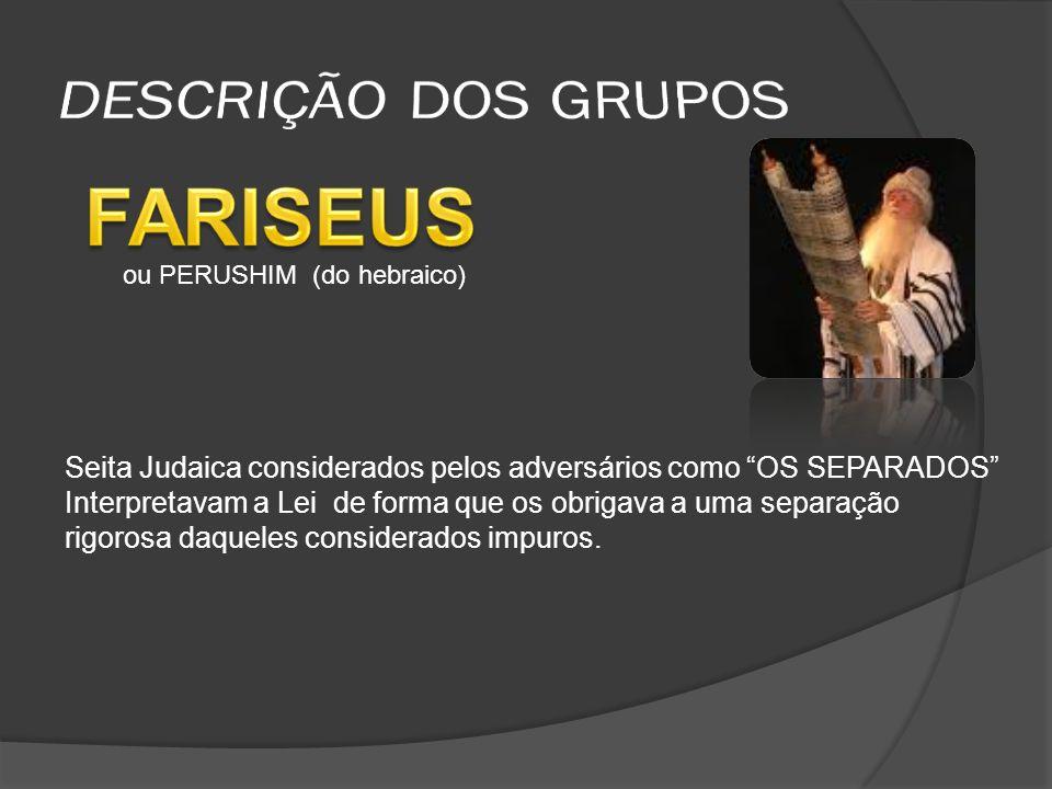 (SEGUIDORES DE JOÃO BATISTA).