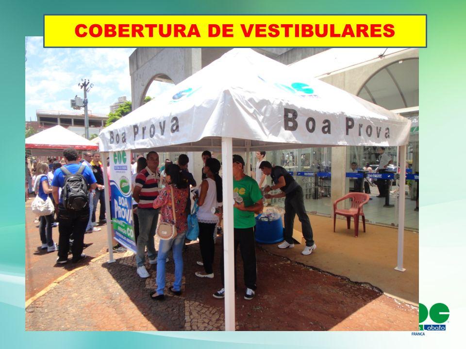 COBERTURA DE VESTIBULARES