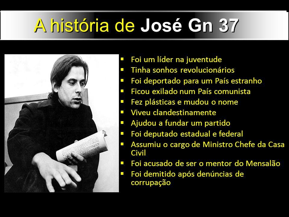 Foi um líder na juventude Tinha sonhos revolucionários Foi deportado para um País estranho Ficou exilado num País comunista Fez plásticas e mudou o no