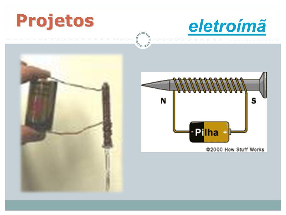 Projetos eletroímã