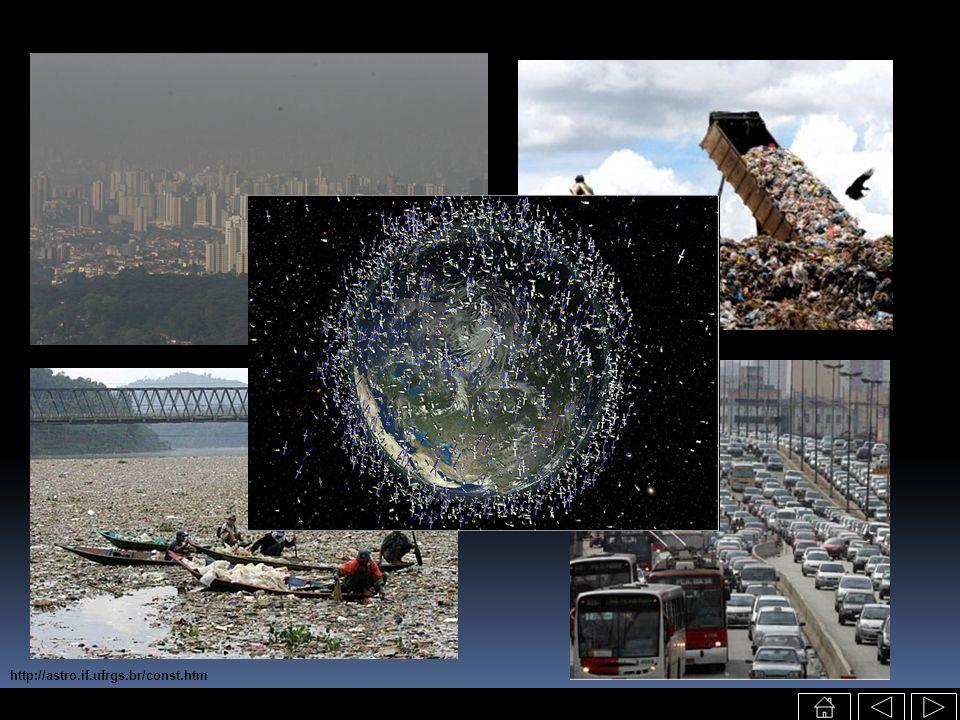 http://www.nytimes.com/2007/02/06/science/20070206_ORBIT_GRAPHIC.html Destruição do satélite chinês polar meteorológico Feng Yun 1C acirra debate sobre o uso militar do espaço e a responsabilidade dos países Quem controla o lixo jogado lá fora?