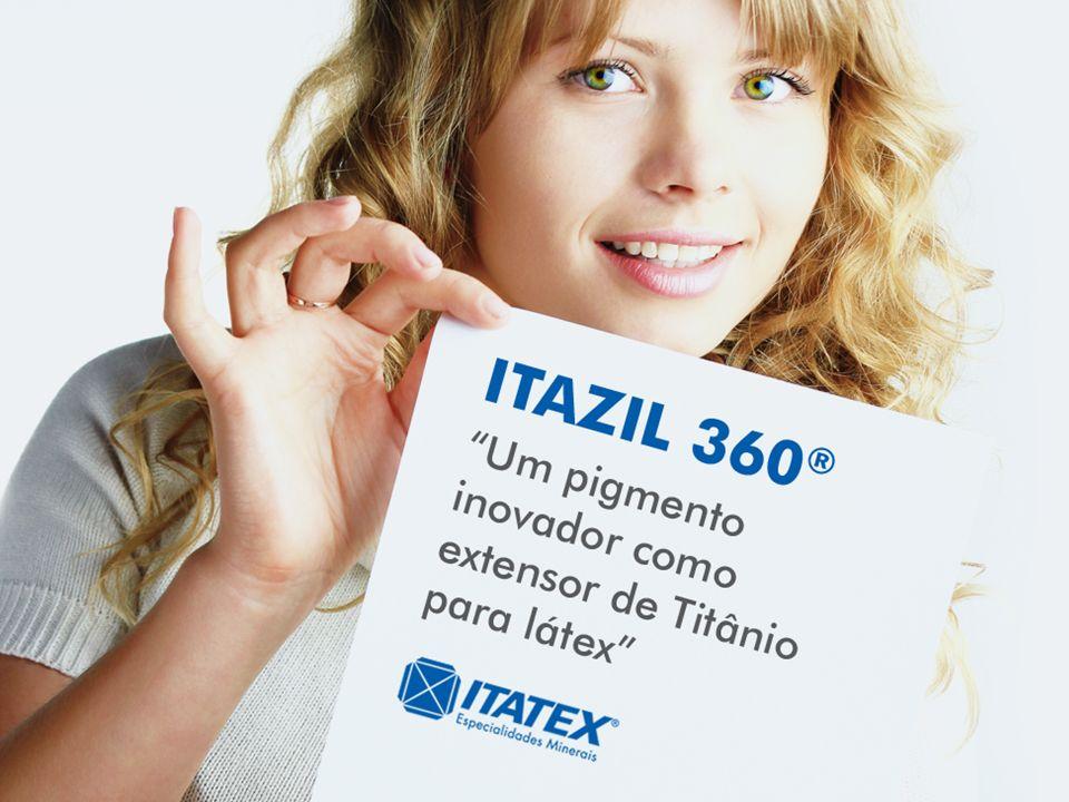 17/Maio/2011ITATEX ESPECIALIDADES MINERAIS1 ITAZIL 360 Um pigmento inovador como extensor de Titânio para látex
