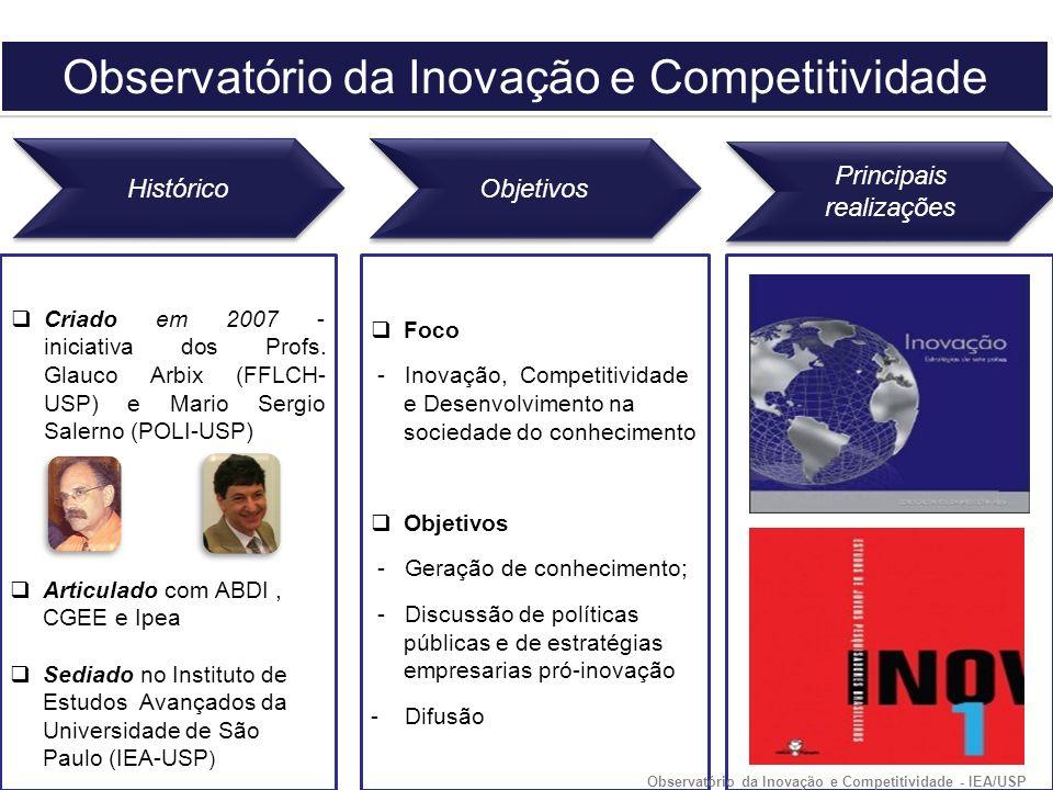Criado em 2007 - iniciativa dos Profs.