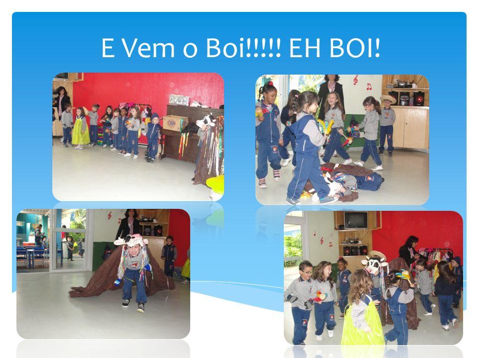 FESTA DO FOLCLORE Na última semana de agosto fizemos a festa do folclore com todas as turmas.