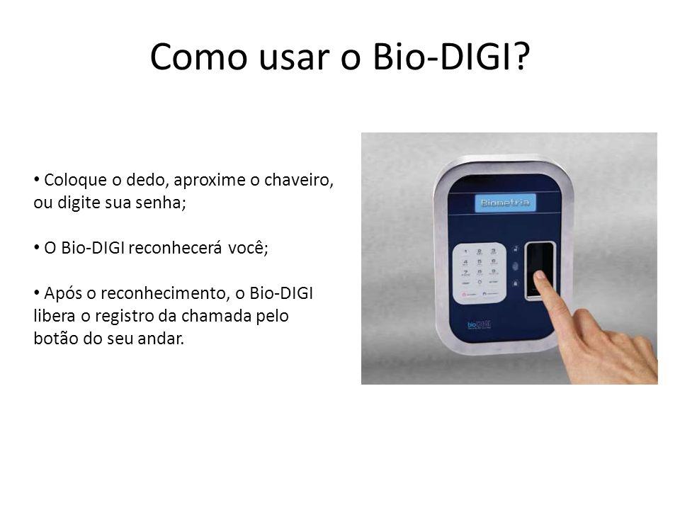 Em quais modelos de elevador pode ser instalado o Bio-DIGI.