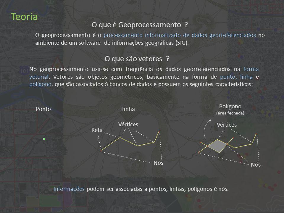 O geoprocessamento é o processamento informatizado de dados georreferenciados no ambiente de um software de informações geográficas (SIG).