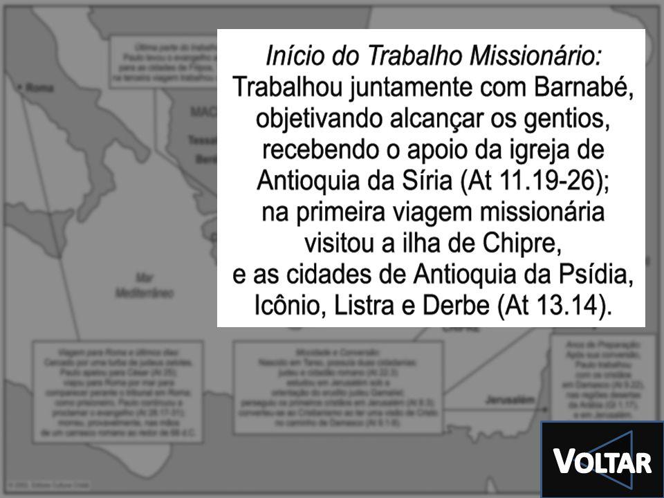 EDITORA CULTURA CRISTÃ.© EDITORA CULTURA CRISTÃ. Todos os direitos são reservados C AMINHOS M ISSIONÁRIOS DA I GREJA Parte 1 Palavra Viva – 3º tri 201