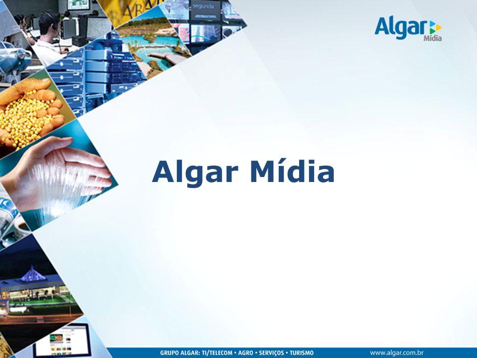 A Algar Mídia oferece soluções transmídia que aumentam a visibilidade da marca do cliente, disponibilizando a anunciantes locais, regionais e nacionais eficientes e acessíveis veículos de mídia, em diversas plataformas.