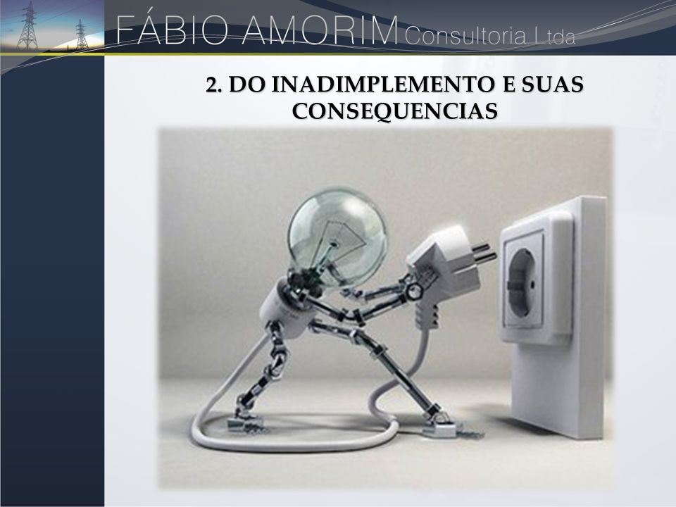 2. DO INADIMPLEMENTO E SUAS CONSEQUENCIAS
