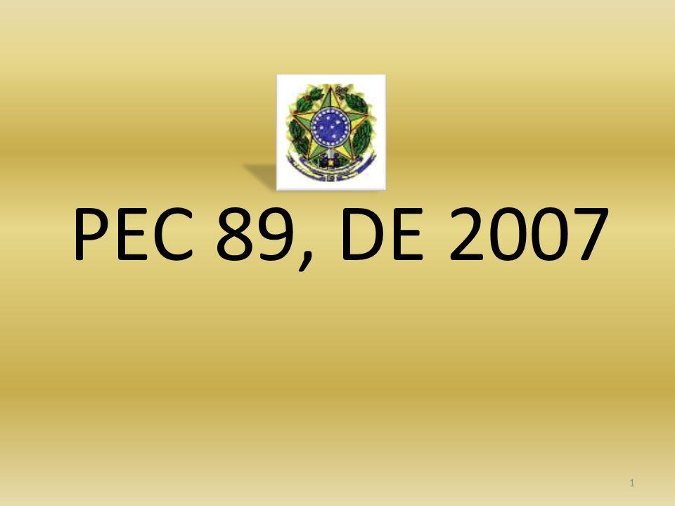 1 PEC 89, DE 2007