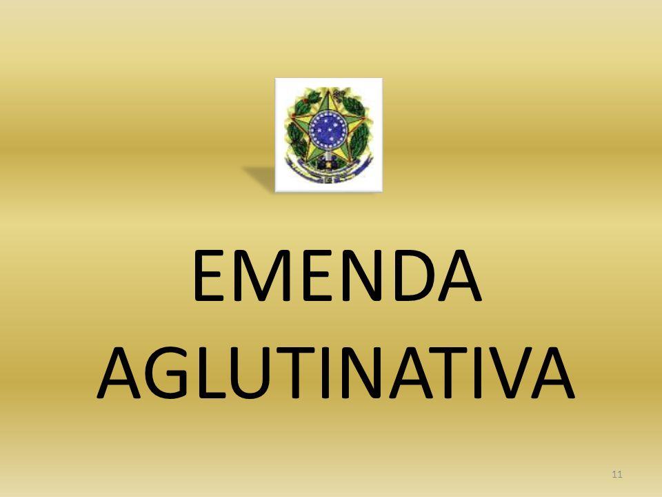 EMENDA AGLUTINATIVA 11