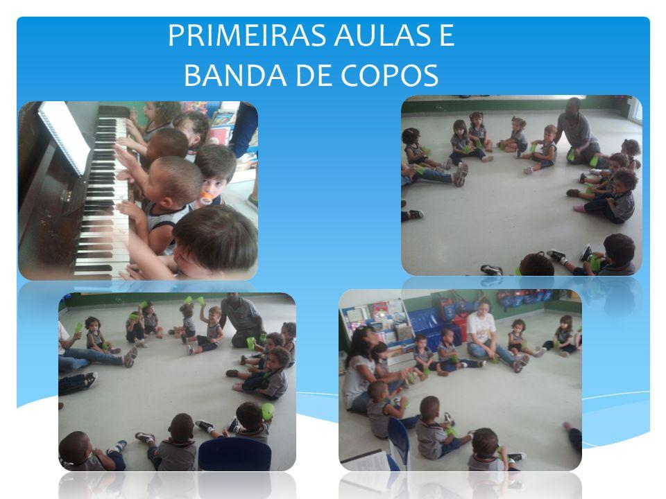 ENSAIOS PARA NOSSO FESTIVAL DE VERÃO Para as turmas dos menores ensaiamos o Hino nacional, o Hino da Escola Pedrita e a música escolhida como Tema Final : Terra do Amor.