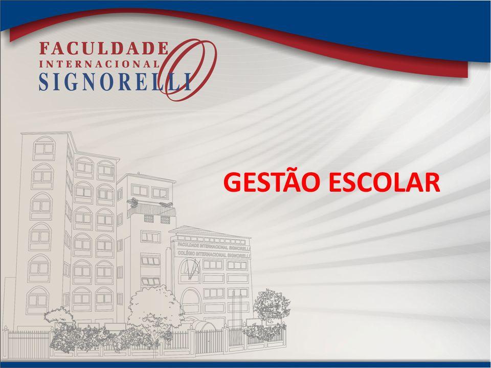 GESTÃO ESCOLAR