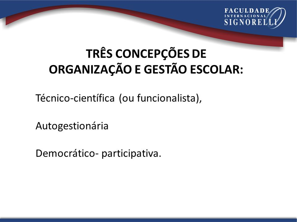 Discutir o tema gestão democrática considerando a realidade dinâmica e complexa implica em tratar a base político-pedagógica das relações que nela se estabelecem