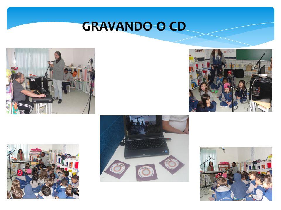 GRAVANDO O CD