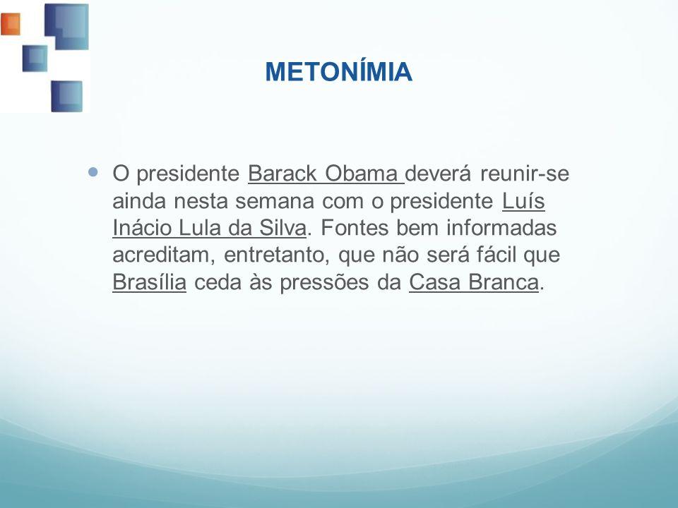 O presidente Barack Obama deverá reunir-se ainda nesta semana com o presidente Luís Inácio Lula da Silva. Fontes bem informadas acreditam, entretanto,