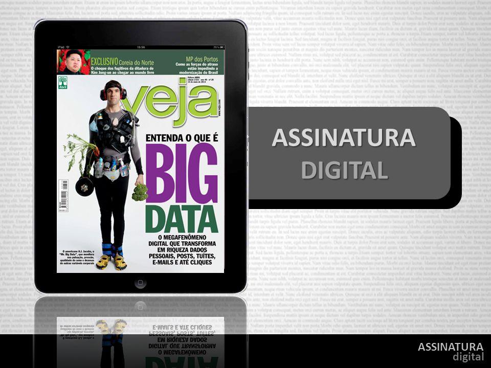 ASSINATURA digital ASSINATURA ASSINATURA DIGITAL DIGITAL