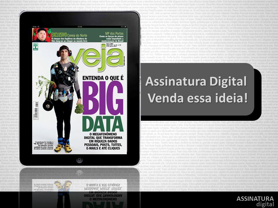 ASSINATURA digital Assinatura Digital Assinatura Digital Venda essa ideia! Venda essa ideia!