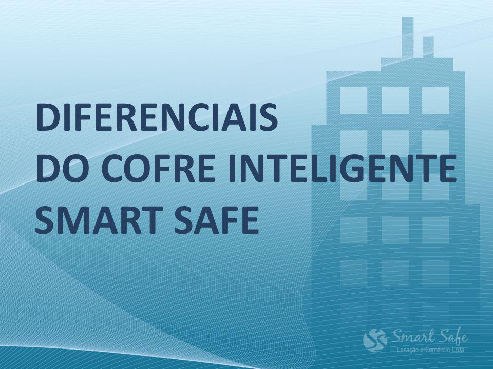 O COFRE INTELIGENTE Smart Safe é aberto através de fechadura eletrônica com senhas randômicas (a cada abertura uma senha diferente), o que resulta em muito mais segurança na hora da coleta do numerário.