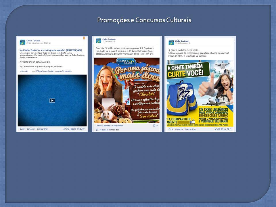 Promoções e Concursos Culturais