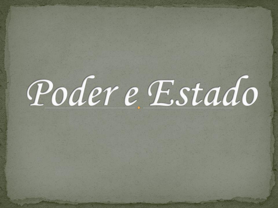 [...] cotidianamente, temos de lidar com relações de poder História do poder no Brasil: autoritarismo e democracia.