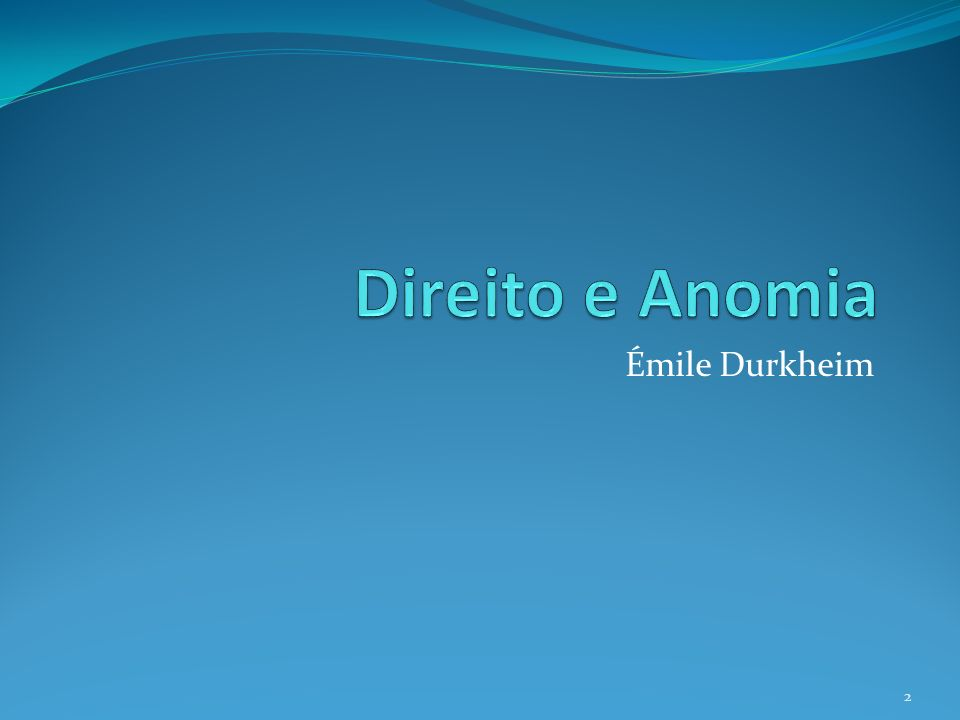 Émile Durkheim 2