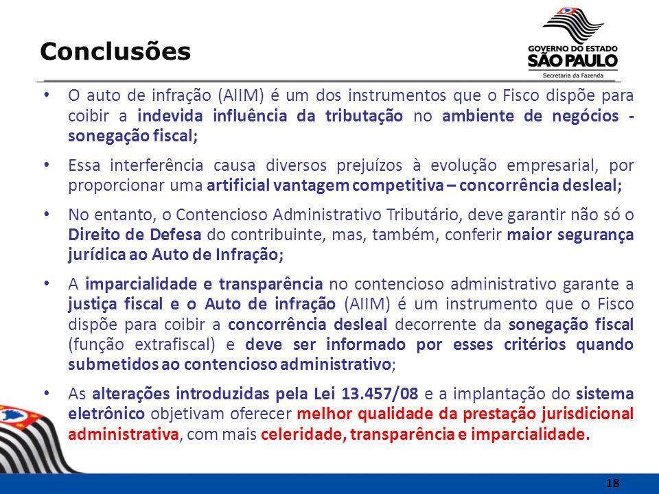 O auto de infração (AIIM) é um dos instrumentos que o Fisco dispõe para coibir a indevida influência da tributação no ambiente de negócios - sonegação