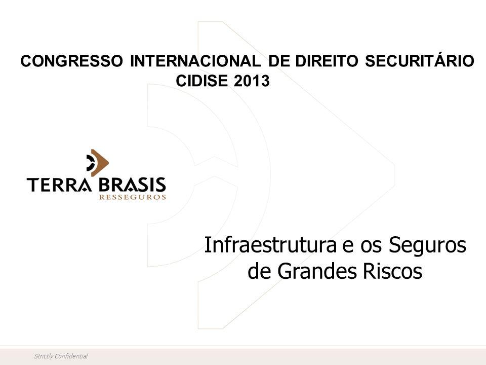 Strictly Confidential Infraestrutura e os Seguros de Grandes Riscos CONGRESSO INTERNACIONAL DE DIREITO SECURITÁRIO CIDISE 2013