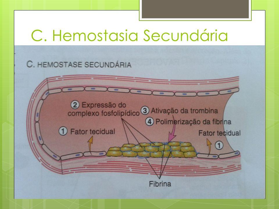 Drogas que afetam a hemostasia Agem de três possíveis maneiras: 1.