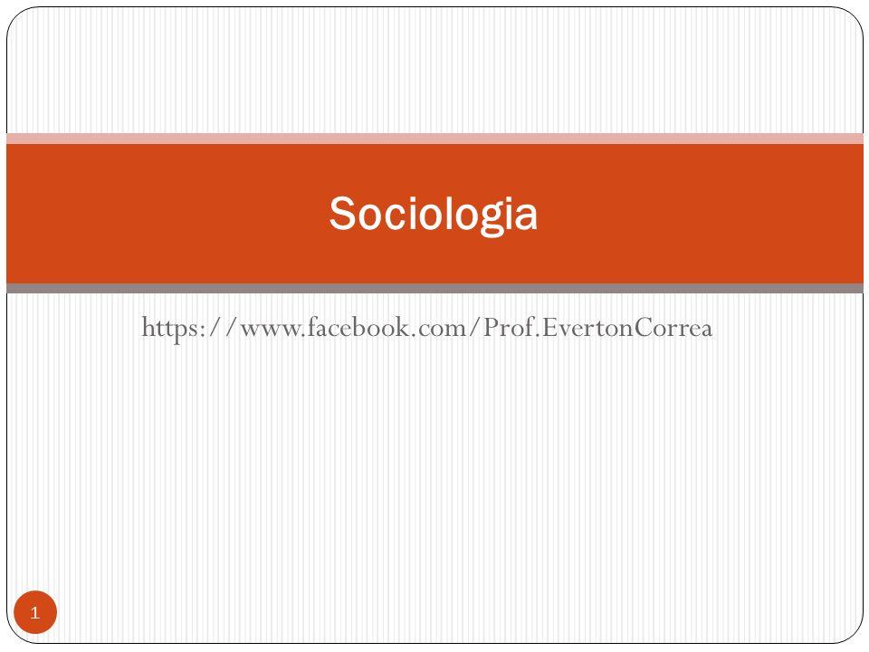 Mudanças e resistências (Max Weber) Prof. Everton da Silva Correa 2