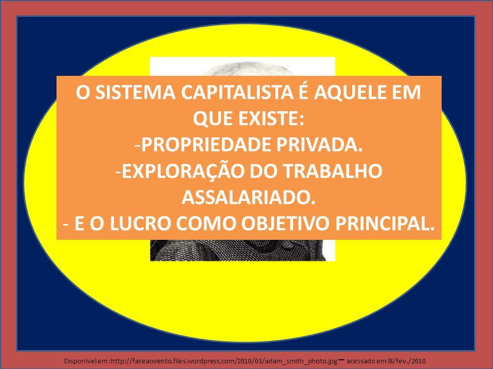IMPORTANTE PARA A PROVA MERCANTILISMO CAPITALISMO (COMERCIAL, INDUSTRIAL E FINANCEIRO OU MONOPOLISTA) LIBERALISMO LEI DA OFERTA E DA PROCURA SOCIALISMO ESTADO DO BEM ESTAR SOCIAL PROPRIEDADE PRIVADA PROPRIEDADE COLETIVA PROGRAMAS ASSISTENCIALISTAS GLOBALIZAÇÃO NEOLIBERALISMO