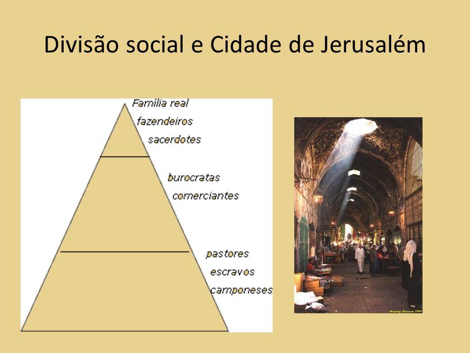 Divisão social e Cidade de Jerusalém