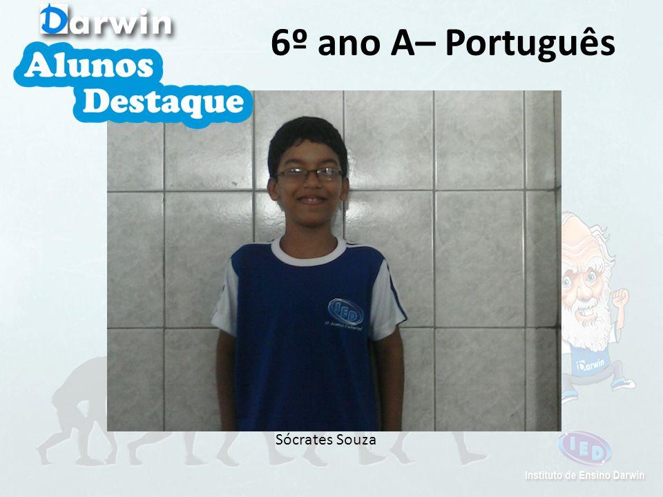 Sócrates Souza 6º ano A– Português