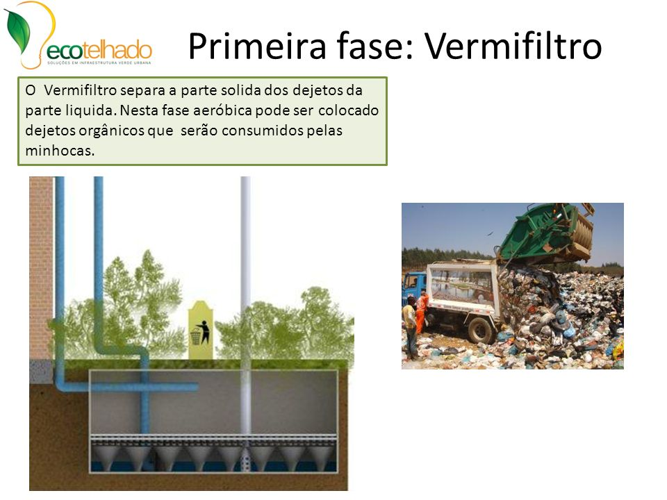 Montagem Cones Sistema Laminar Os cones de plástico reciclado possuem alta resistência à compressão e sobre eles será colocada a vegetação de macrófitas e outras.