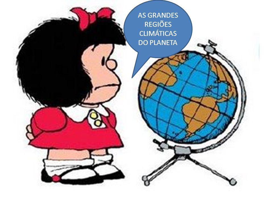 AS GRANDES REGIÕES CLIMÁTICAS DO PLANETA