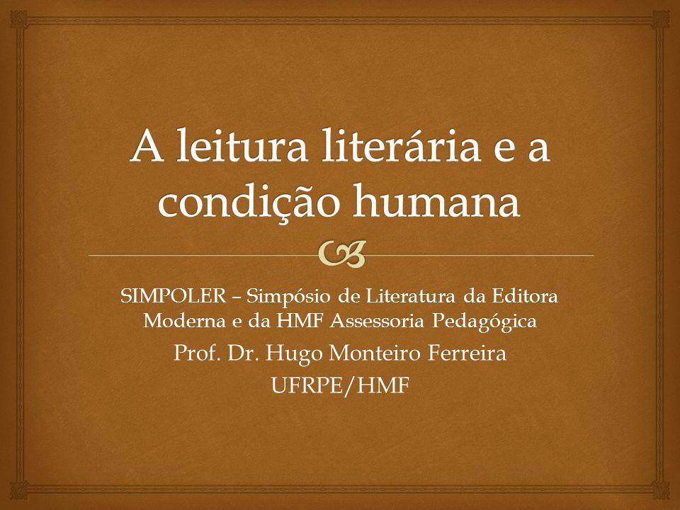SIMPOLER – Simpósio de Literatura da Editora Moderna e da HMF Assessoria Pedagógica Prof.
