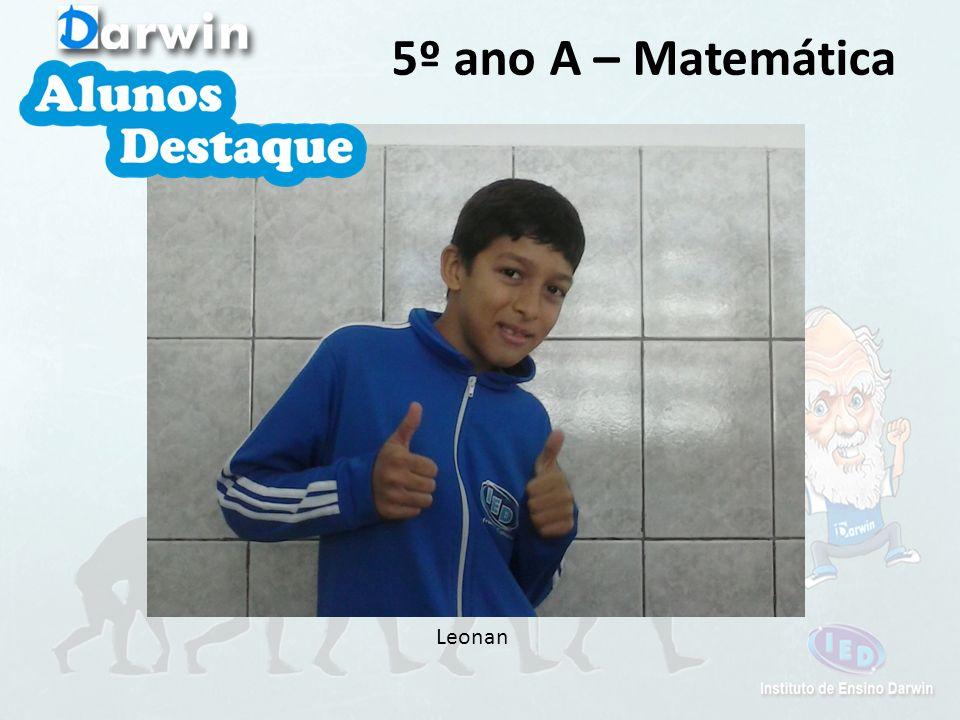 Leonan 5º ano A – Matemática