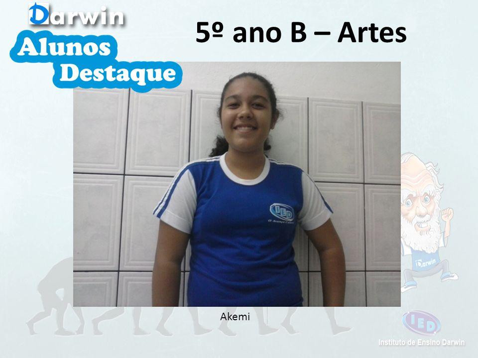 Akemi 5º ano B – Artes