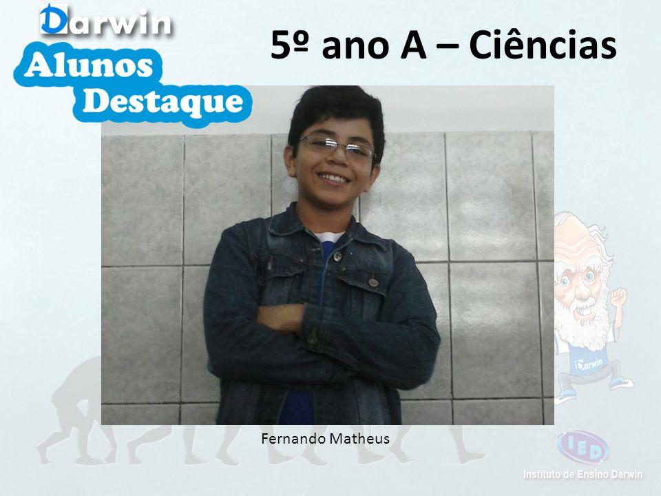 Arthur Vinicius 5º ano B – Inglês