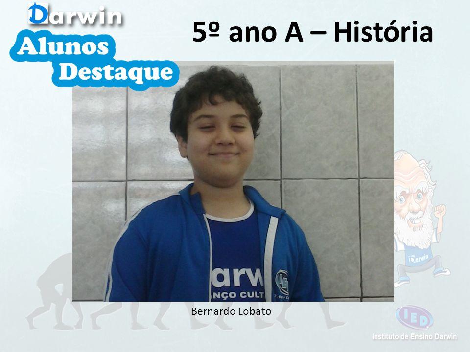 Bernardo Lobato 5º ano A – História