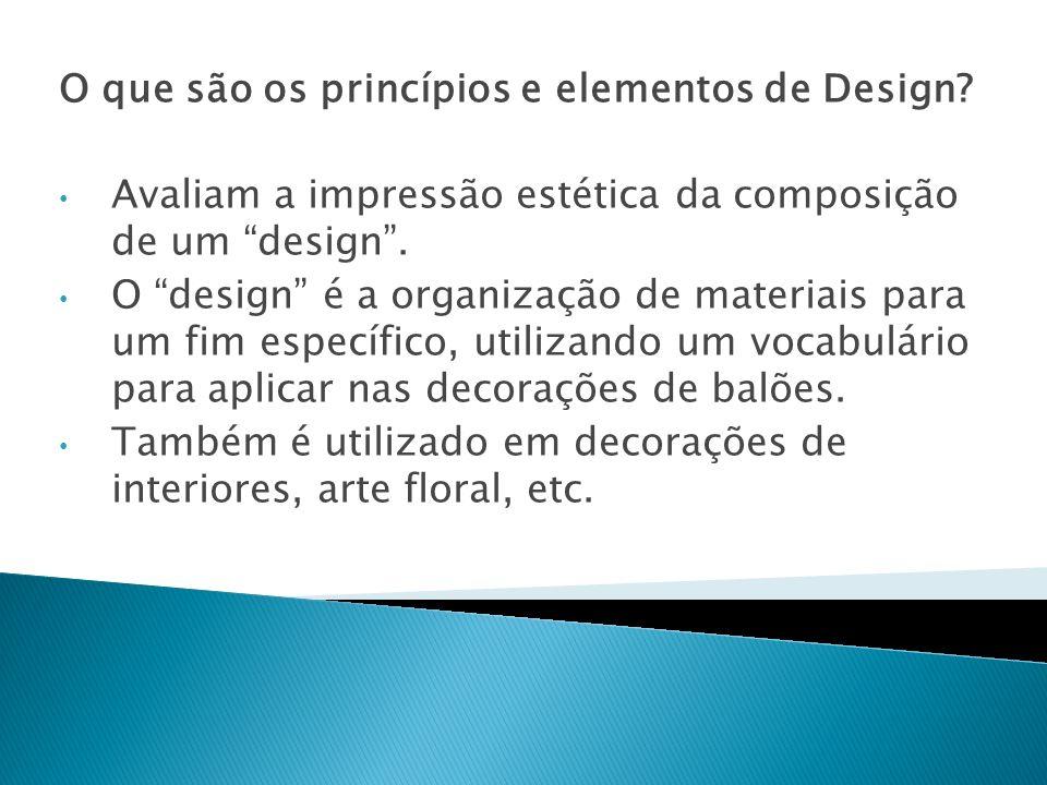 O ponto único no design onde concentra um único item de interessem onde todos os demais materiais parte ou convergem