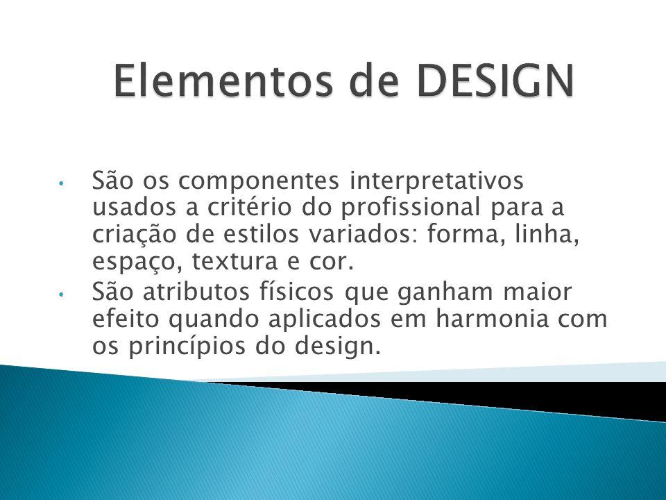 É a visão externa formada através dos materiais de uma composição.