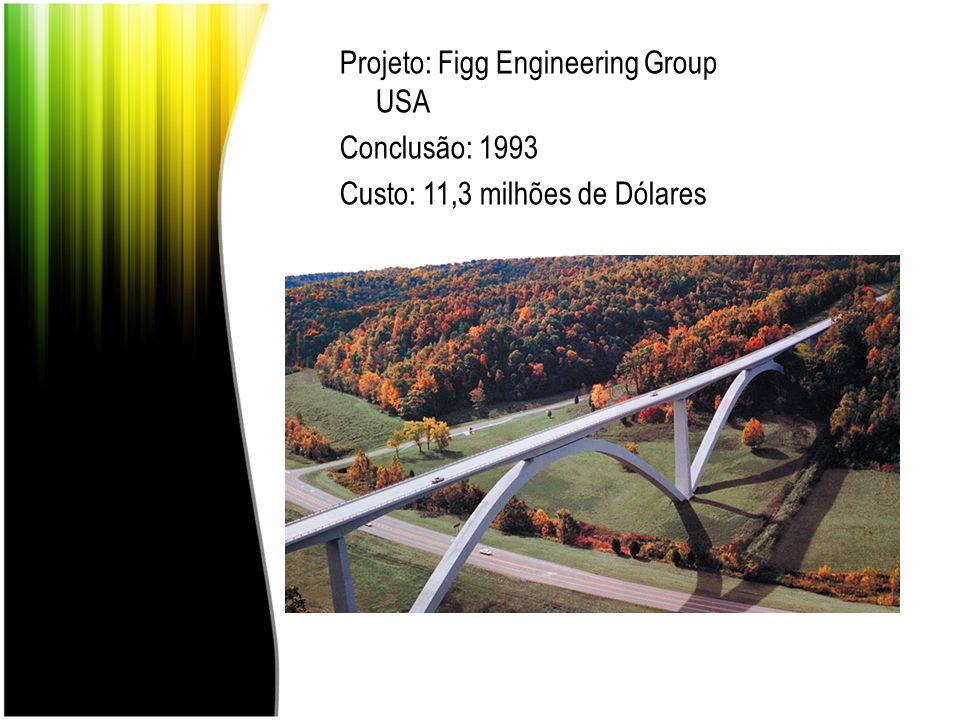 Projeto: Figg Engineering Group USA Conclusão: 1993 Custo: 11,3 milhões de Dólares