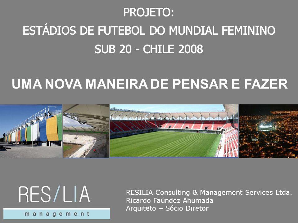 UMA NOVA MANEIRA DE PENSAR E FAZER RESILIA Consulting & Management Services Ltda. Ricardo Faúndez Ahumada Arquiteto – Sócio Diretor
