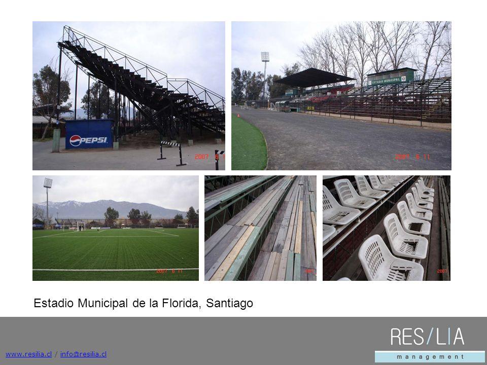 www.resilia.clwww.resilia.cl / info@resilia.clinfo@resilia.cl Estadio Municipal de la Florida, Santiago