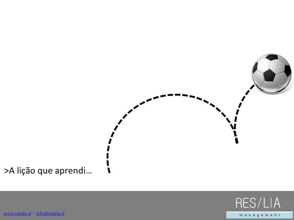 www.resilia.clwww.resilia.cl / info@resilia.clinfo@resilia.cl >A lição que aprendi…