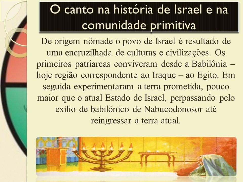 De origem nômade o povo de Israel é resultado de uma encruzilhada de culturas e civilizações. Os primeiros patriarcas conviveram desde a Babilônia – h