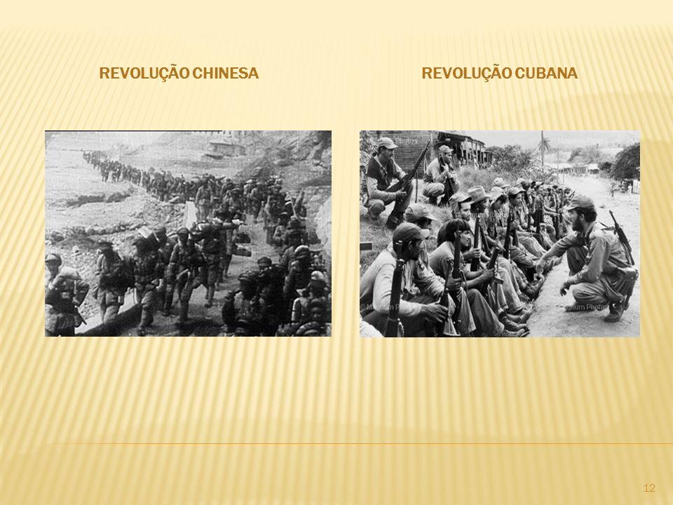 REVOLUÇÃO CHINESAREVOLUÇÃO CUBANA 12