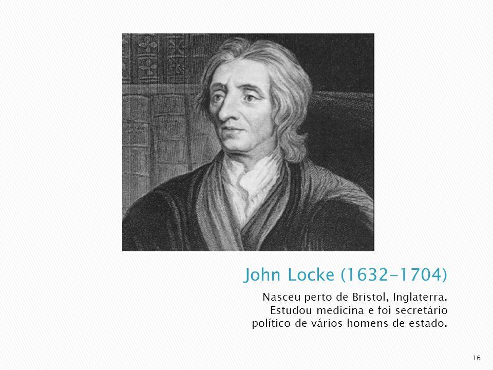 Nasceu perto de Bristol, Inglaterra. Estudou medicina e foi secretário político de vários homens de estado. 16